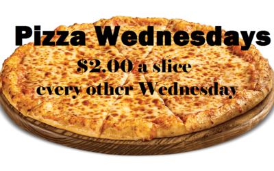 Pizza Wednesdays…
