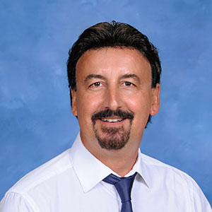 Greek language teacher Mr. Giavaras