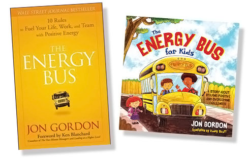 Energy Bus books