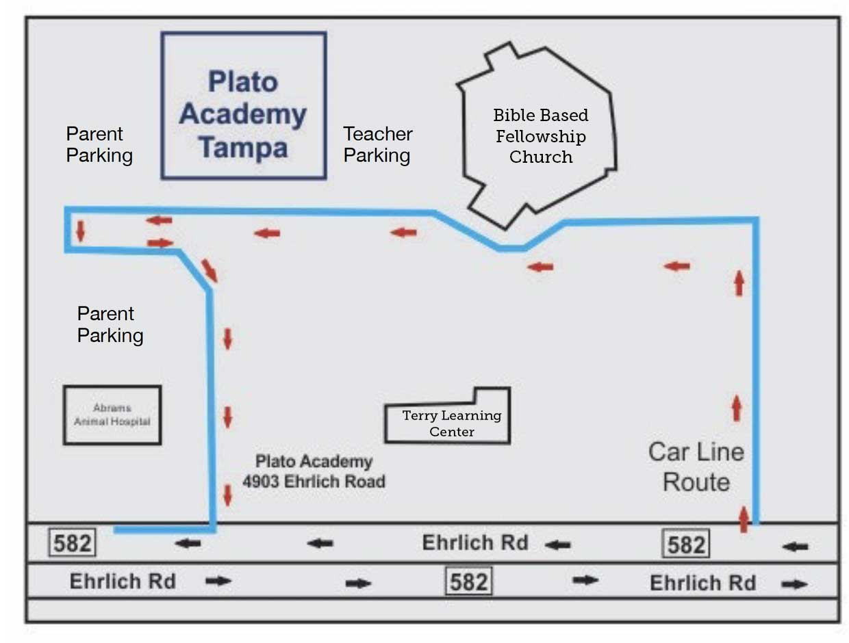 Carline route map