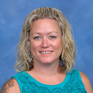 MTSS teacher Ms. Buckley