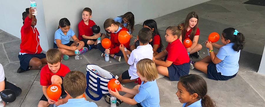 Science with 2nd Grade at Plato Academy St. Petersburg