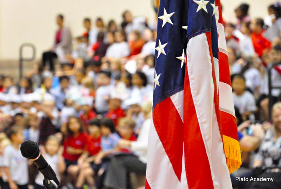 "Veterans Day and ""OXI"" day at Plato Academy Tampa"