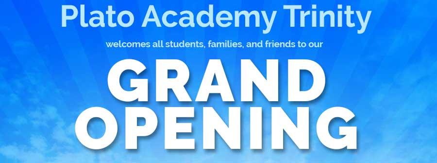 Plato Academy Trinity Grand Opening