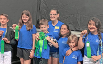 Plato Academy Tarpon Springs students at Odyssey of the Mind 2019 competition!