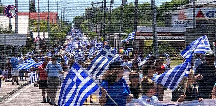 Tarpon Springs Greek Parade 2019