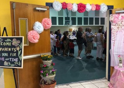 Grandparents at Plato Academy Tampa during Grandparents day celebration