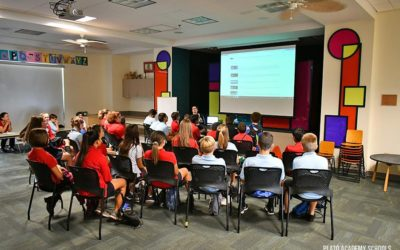 Plato Academy Tarpon Springs Students Visit Clearwater Main Library