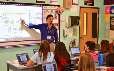 Plato Academy Students in Largo, Learn About Greek Language and Culture