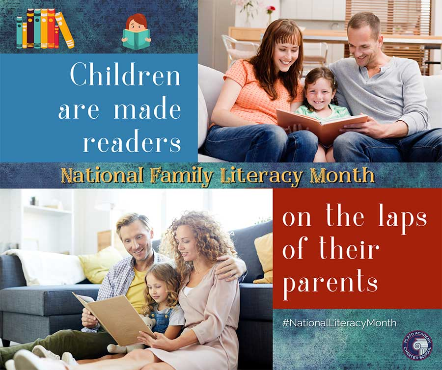 Family Reading - National Family Literacy Month