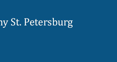 Message from the Plato Academy Board Chairman Regarding St. Petersburg Campus